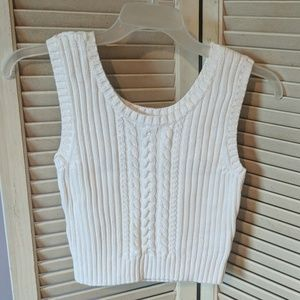 Lands End sweater vest